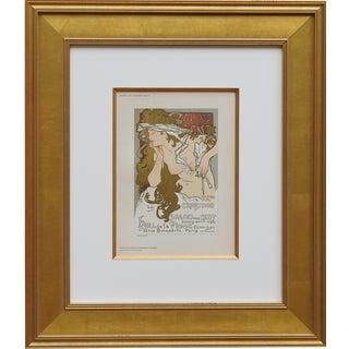 "Late 19th Century ""Salon Des Cent"" From Das Moderne Plakat For Sale"