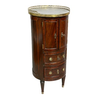 Louis XVI Mahogany Bedside Table For Sale