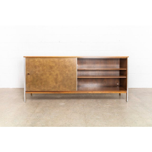 Calvin Mid Century Paul McCobb Linear Group for Calvin Credenza For Sale - Image 4 of 11