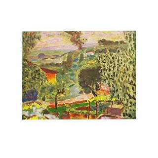 1947 Pierre Bonnard, Original Period Paysage Lithograph For Sale