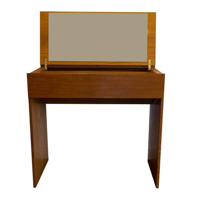 Danish Modern Teak Vanity - Image 1 of 4