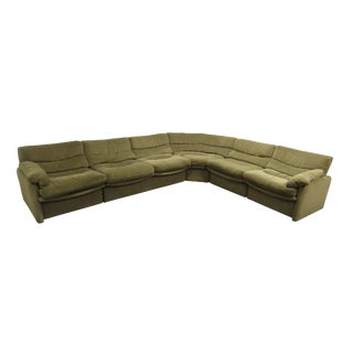 1970s Mid-Century Modern Htb a Division of Lane Furniture Modular Sectional Sofa For Sale