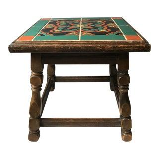 1930s California Tile Table