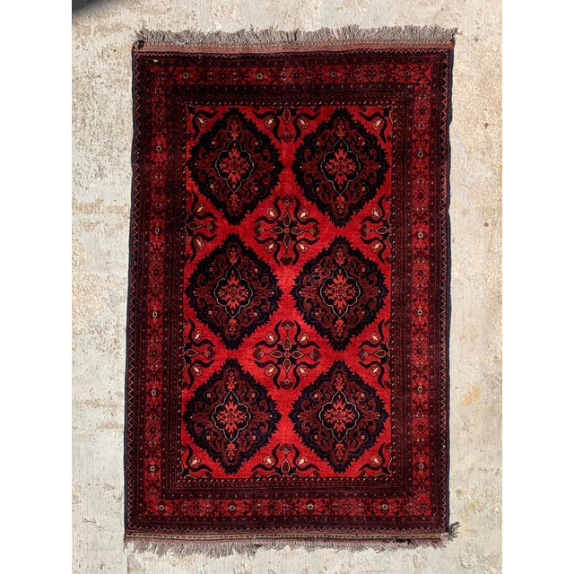 Late 20th Century Kahn Mohamadi Rug - 4′2″ × 6′3″ For Sale - Image 10 of 10