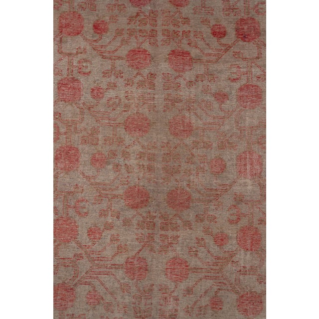 Textile Boho Chic Colorful Khotan Gallery Carpet - 6′8″ × 13′4″ For Sale - Image 7 of 9