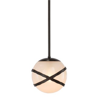 "Vibe Pendant - 10"" Globe (Dark Bronze) Preview"