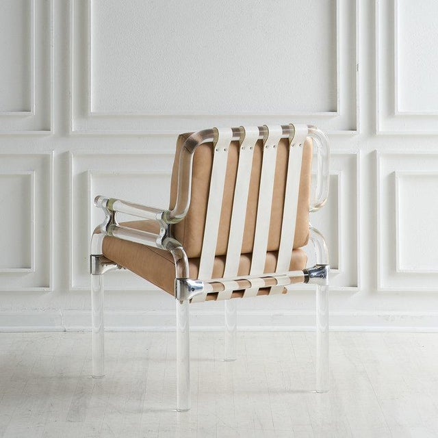 Jeff Messerschmidt Pipeline Series II Chair in Leather For Sale - Image 10 of 12