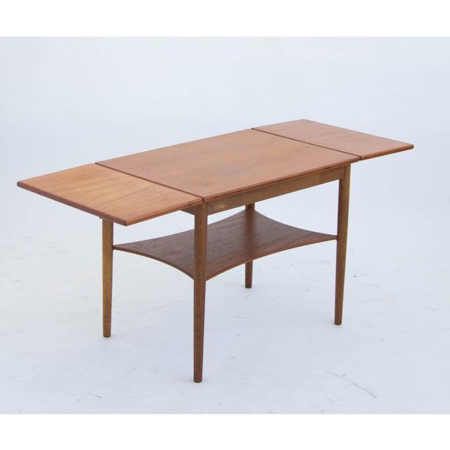 Borge Mogensen Drop Leaf Side Table - Image 4 of 6