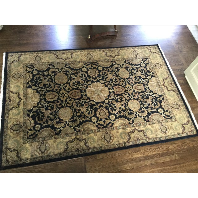 Ethan Allen Rug - 5′10″ × 8′9″ For Sale - Image 5 of 7
