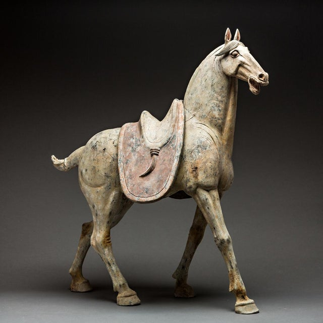 Pair of Tang Horses For Sale In Los Angeles - Image 6 of 6