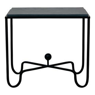 Design Frères Grey Slate 'Entretoise' Side Table For Sale