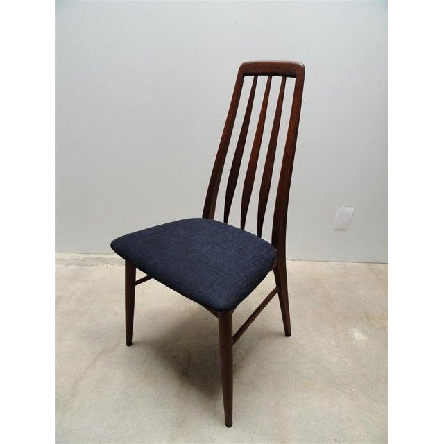 Danish Modern Eva Dining Chairs by Koefoeds Hornslet - Set of 4 - Image 7 of 10