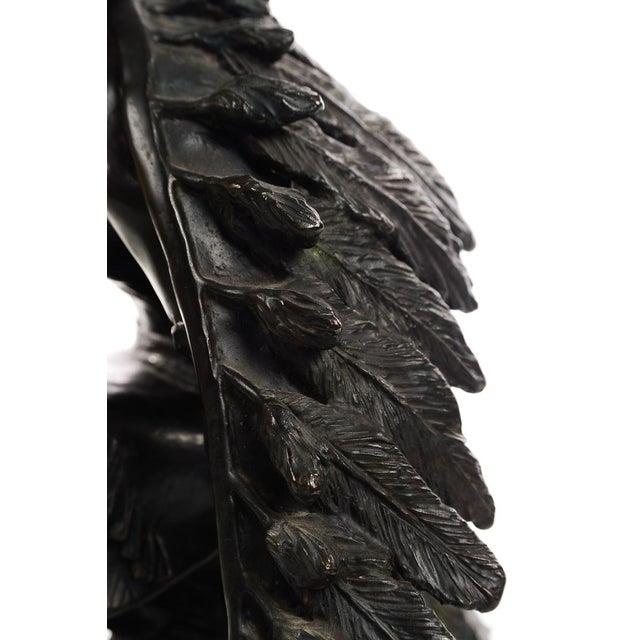 Bettie Moran - Raven Dancer - Native American Indian Bronze Sculpture For Sale - Image 10 of 11