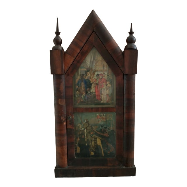 Mid 19th Century Steeple Clock Case For Sale