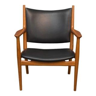 Hans J Wegner Lounge Chair For Sale