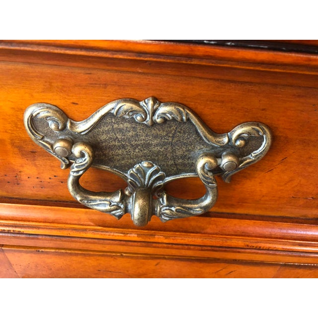 1990s Traditional Hickory White Wooden Credenza For Sale In Philadelphia - Image 6 of 12