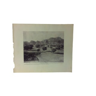 "Antique Glimpses of India Print, ""The Residency - Pachmari"", Circa 1890 For Sale"