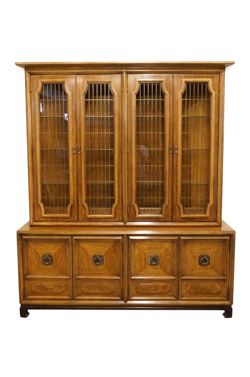 vintage used asian china and display cabinets chairish rh chairish com - Antique Liquor Cabinets Sale Design Inspiration - Designing An