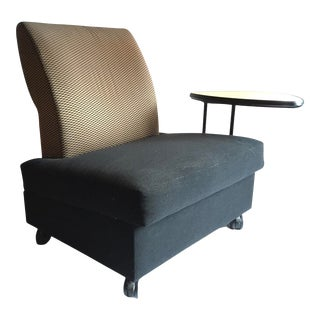 Metropolitan Chair With Swivel Table For Sale