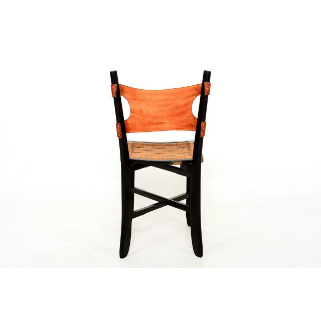 1950s Pair of Modernist Folding Chairs For Sale - Image 5 of 9