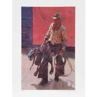 Duane Bryers, Saddle Broken , Lithograph For Sale