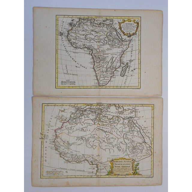 18th C. Africa & N. Africa Maps- Set of 2 - Image 2 of 4