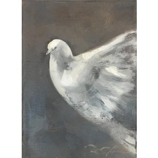 """Dove Study, No.1"" Original Painting by Donna Hughes For Sale"