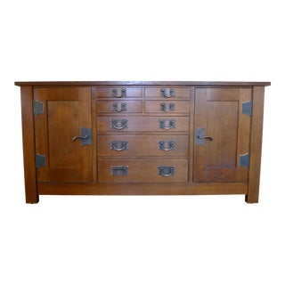 Stickley Mission Syracuse Oak Sideboard For Sale