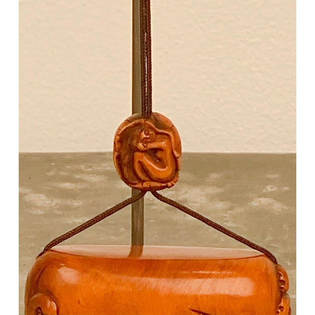 Japanese Vintage Taisho Inro, Japan Circa 1920 For Sale - Image 3 of 8