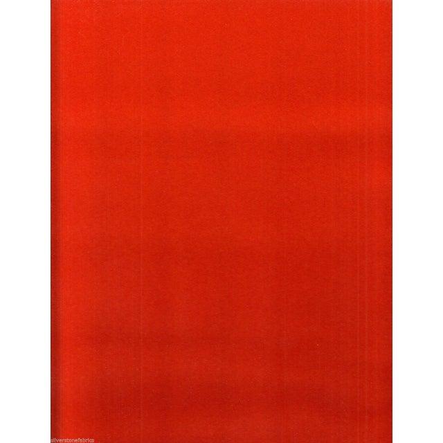 Maharam Kvadrat Orange Divina Wool Fabric - 1.625 Yards - Image 1 of 2