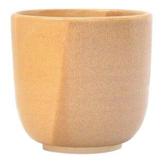 "Contemporary Handmade ""Desert Sand"" Tumbler by FisheyeCeramics For Sale"