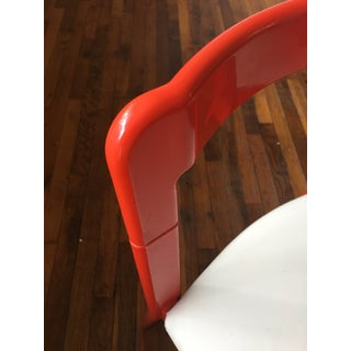 70s Red Plastic Space Age Chairs - A Pair Preview