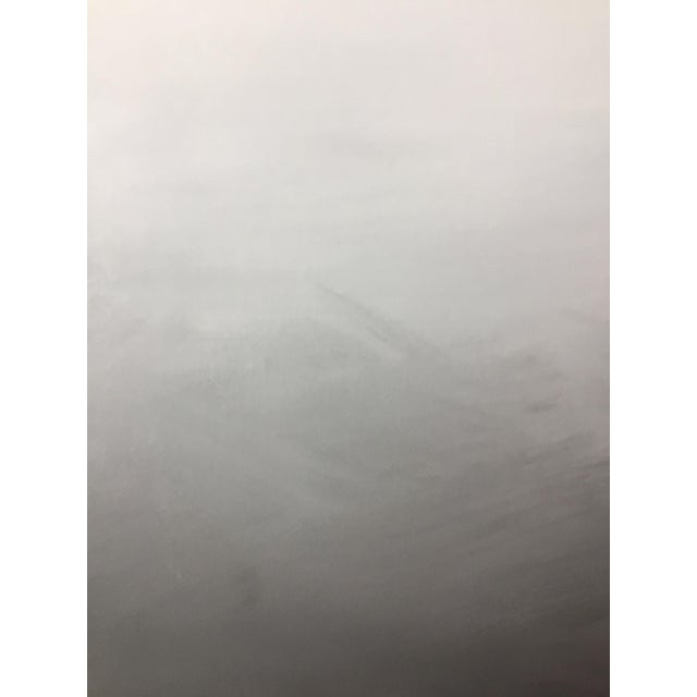 Abstract Gray Ombré Acrylic on Canvas - Image 3 of 4
