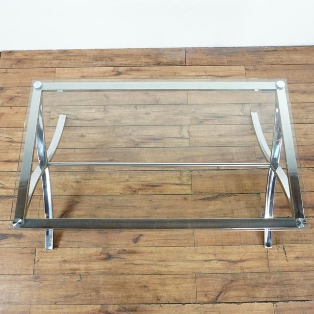 Z Gallerie Barcelona Coffee Table For Sale - Image 4 of 7