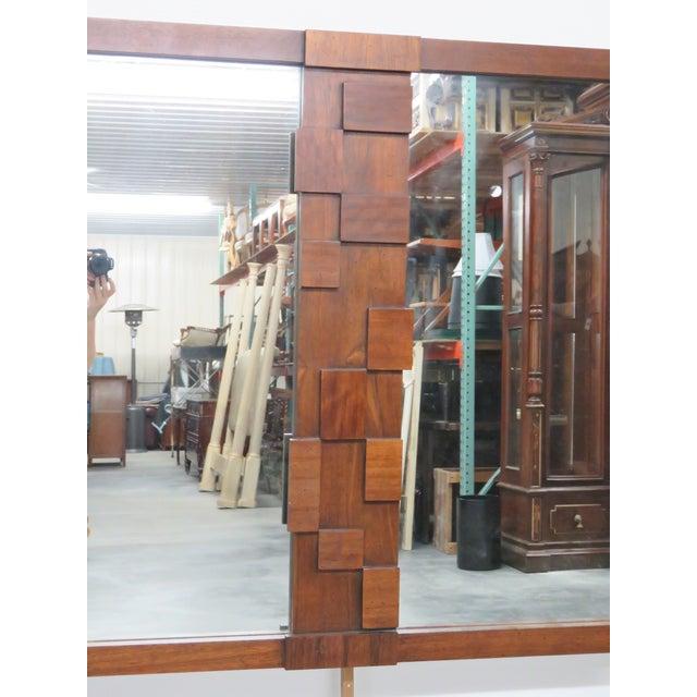 Lane Paul Evans-Style Brutalist Mirror - Image 2 of 3