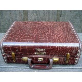 Croc Print Samsonite Luggage Preview