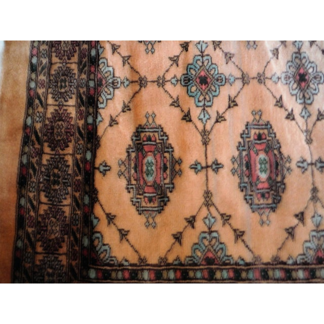 Knotted Persian Oriental Rug - 3′5″ × 8′2″ - Image 8 of 9