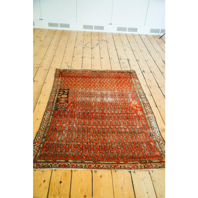 "Antique Persian Malayer Rug - 3'6"" x 5'6"" - Image 2 of 5"