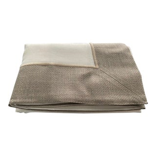 Rustic Elegance Natural Linen Tablecloth For Sale