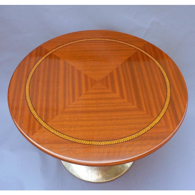 Traditional Unusual Secessionist Game Table For Sale - Image 3 of 6