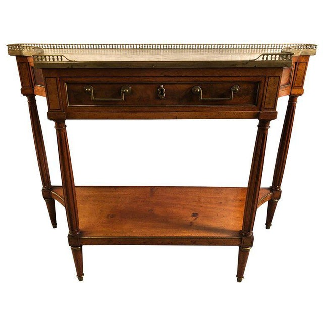 French Louis XVI Console Table c.1800 For Sale - Image 9 of 9
