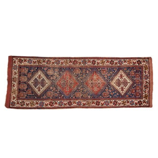 "Antique Afshar Rug Runner - 3'1"" X 8'6"" For Sale"