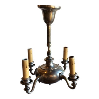 Belgiun Style Light Fixture For Sale