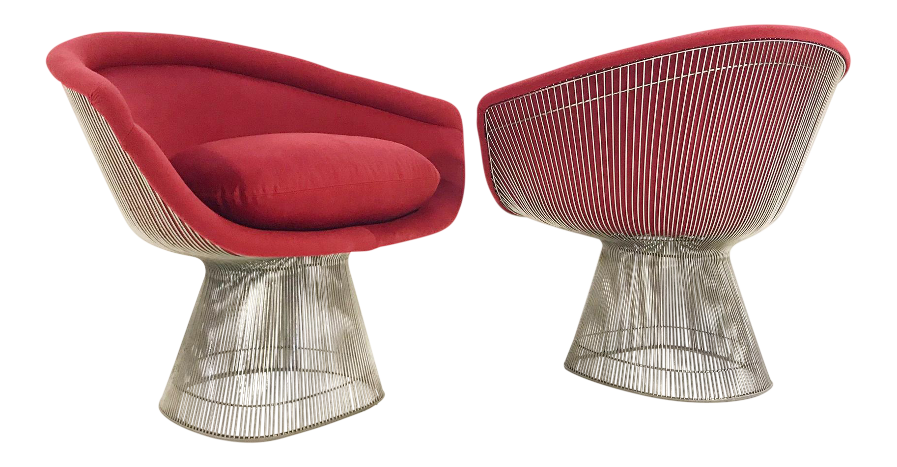 Warren Platner for Knoll Lounge Chairs - A Pair  sc 1 st  Chairish & Gently Used Warren Platner Furniture for Sale | Chairish