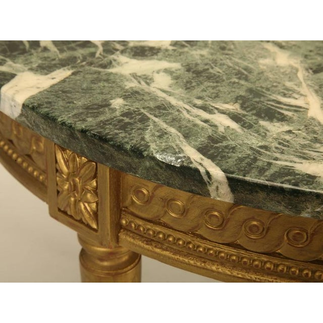 French Louis XVI Style Coffee Table For Sale - Image 10 of 10