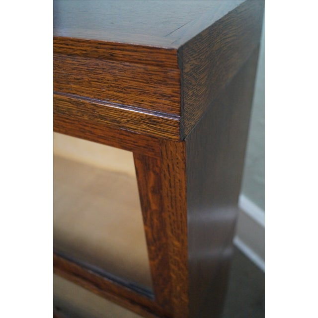 Globe Wernicke Antique Oak Two Section Bookcase - Image 8 of 10