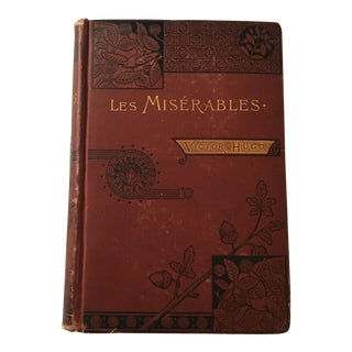 """Les Miserables"" Gilt Accented Book"