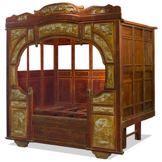 Antique Chinese Gu-Fei Canopy Daybed Preview