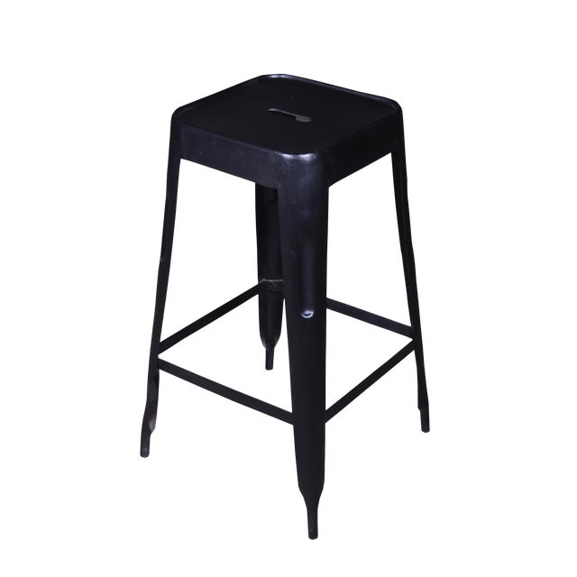 Iron Bar Stool Set of 2 - Image 1 of 4
