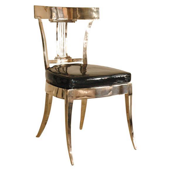 Metal Dana John Cast Bronze Chair For Sale - Image 7 of 7